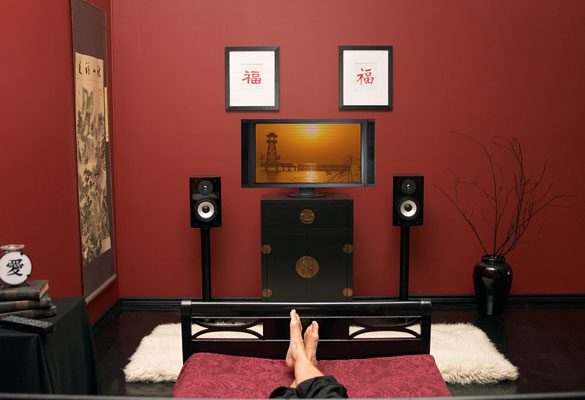 Speaker placement in Small Rooms
